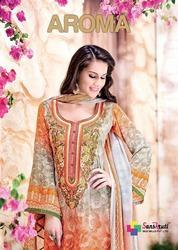 Georgette Suit With  Digital Print