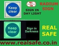 Radium Sign