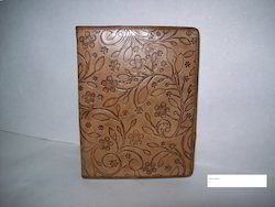 Intricate Design Embossed Leather Journals