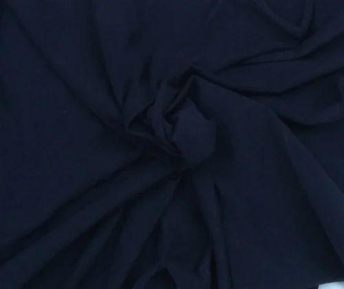 Knit Indigo Denim Spandex Jersey Fabric
