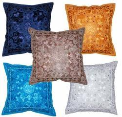 Embroiderd Cushion Cover