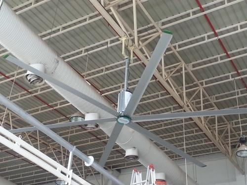 High Volume Low Speed Fan : High volume low speed fan at rs number village