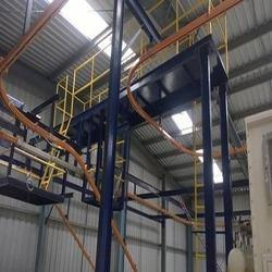 Overhead Conveyor with Rise and Fall