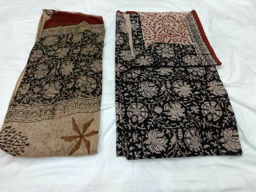 Bagru Unstitched Suits