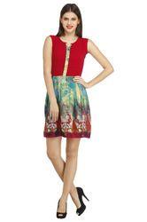 Casual Printed Dress