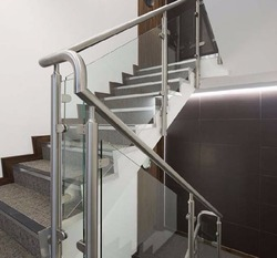 Amazing SS Glass Handrail