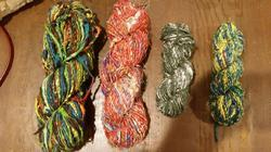 Banana Silk Yarns In Multicolors For Spinners, Weavers, Knit