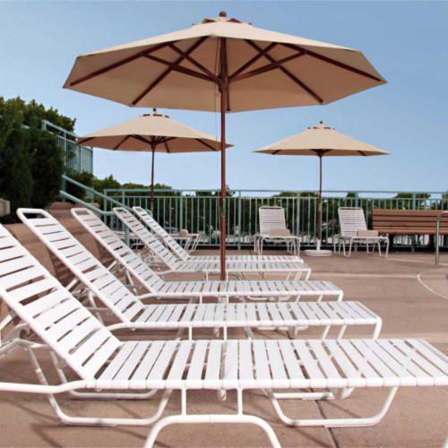 Poolside Umbrella