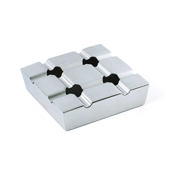 Stainless Steel Square Ashtray