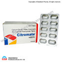 Calcium Citrate Malate, Calcitriol