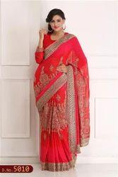 Bridal Hand Woven Saree