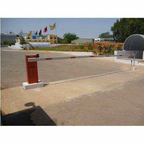 Remote Control Boom Barrier