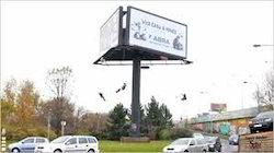LED Rotating Billboard Hoarding