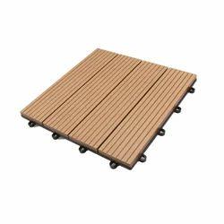 WPC Decking Teak Deck Tiles