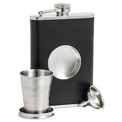 Hip Flask with Shot Glass