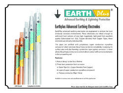 Chemical Earthing Electrodes