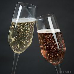 Gold Flakes in Champagnes And Wines