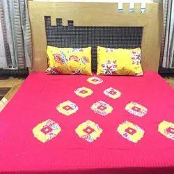 Sanganeri Bed-Sheets