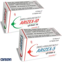 Donepezil HCl Tablets (Arizex)