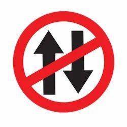 Mandatory Road Sign