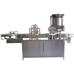 Four Head Vial Filling Stoppering Machine