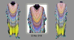 Stylish Digital Printed Kaftans
