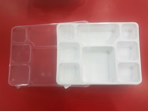 Meal Tray 8 CP Spill Proof With Lid