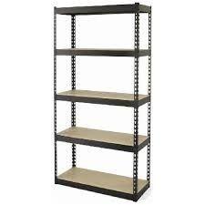 5 Shelves open  Section Panel Rack