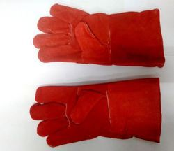 solitaire winter leather industrial gloves