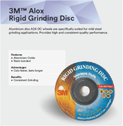 3M Alox Rigid Grinding Disc
