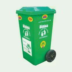 Dust Bin Wheeled Attched