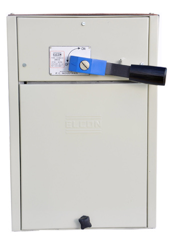Switch Fuse Unit In Sheet Steel Enclosure