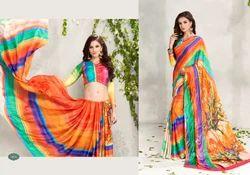 Indian Digital Printed Saree