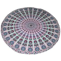 Handmade cotton mandala roundies
