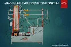Venturi Meter Test Rig Calibration
