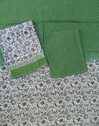 Aaditri Clothing Cotton Dupatta Suit