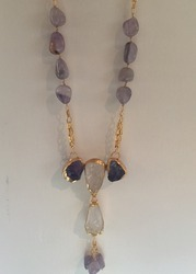 Semi Precious Stones Necklace