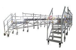 Aluminium Ladders Aluminum Self Support Extension Ladder