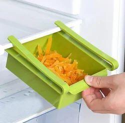 Kawachi Plastic Multi Use Sliding Kitchen Refrigerator Stora