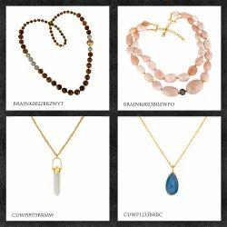 Brass Fashion Necklaces & Pendants
