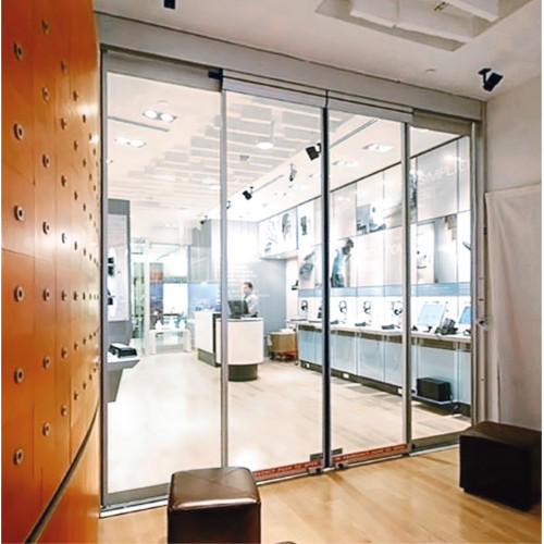 Glass Sensor Sliding Doors