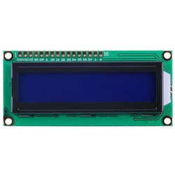 LCD With LCD Module Blue Backlight Display
