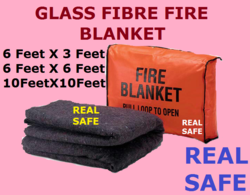 Glass Fibre Fire Blanket