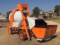 Mini Mobile Concrete Mixing - Batching Plant 8-10 cum/ hr