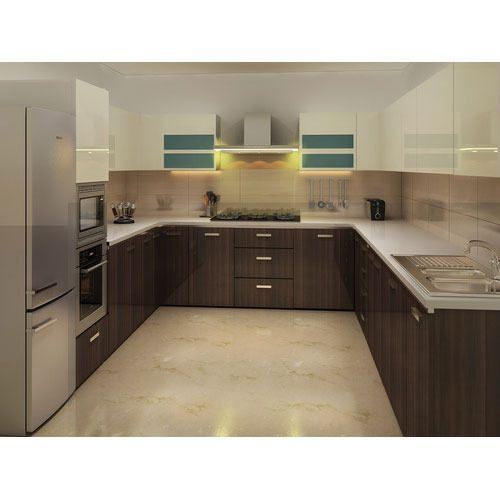 Aluminium Modular Kitchen At Rs 1100 Square Feet: Modular Kitchen Supplier In Gurgaon