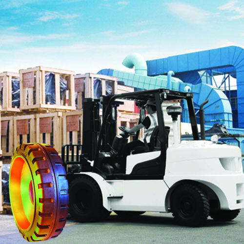 Industrial Solid Resilient Tyres
