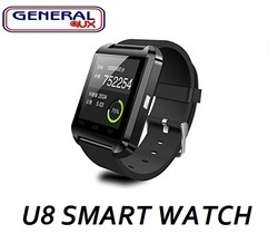 U8 Smart Watch Black
