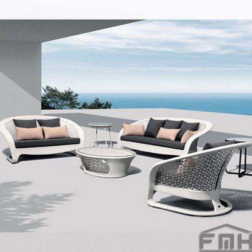 outdoor furniture wicker sofa