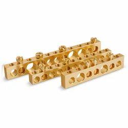 Brass Earthing Blocks