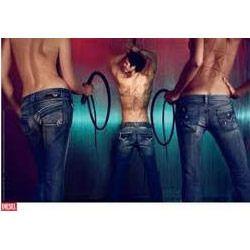 Mens Stretch Slim Fit Denim Jeans